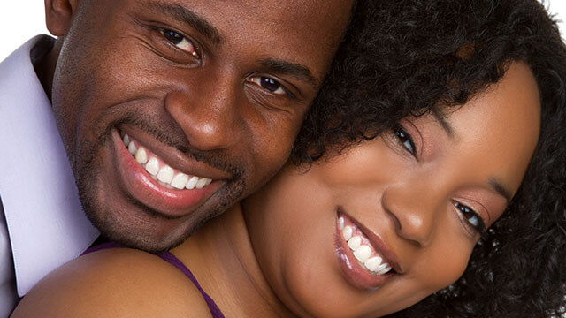 beautiful black couple